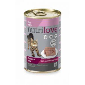 Nutrilove Pate Cat veal