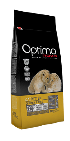 Optima Nova Kitten Chicken & Rice 75/40