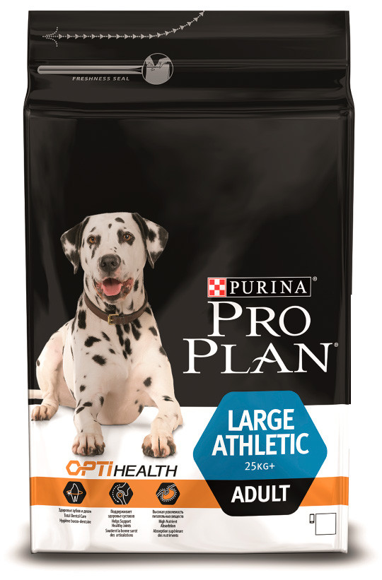 Pro Plan Adult Large Athletic (курица, рис)