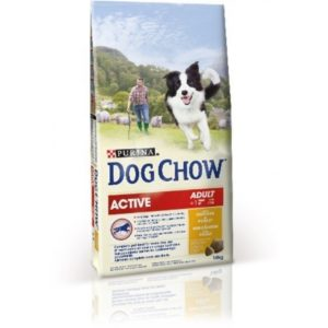 Dog Chow Adult Active с курицей