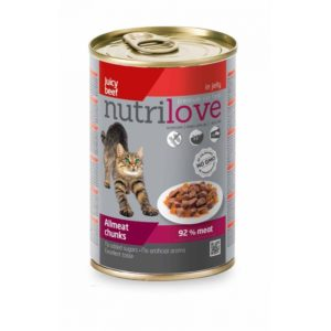 Nutrilove Chunks Cat beef
