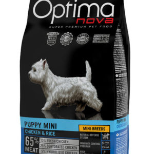 Optimanova Puppy Mini Chicken & Rice 65/35