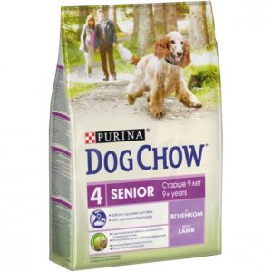 Dog Chow Senior ягненок
