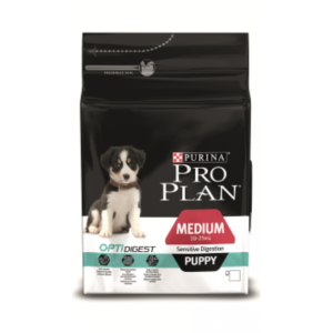 Pro Plan Medium Puppy Sensitive Digestion (ягненком, рис)