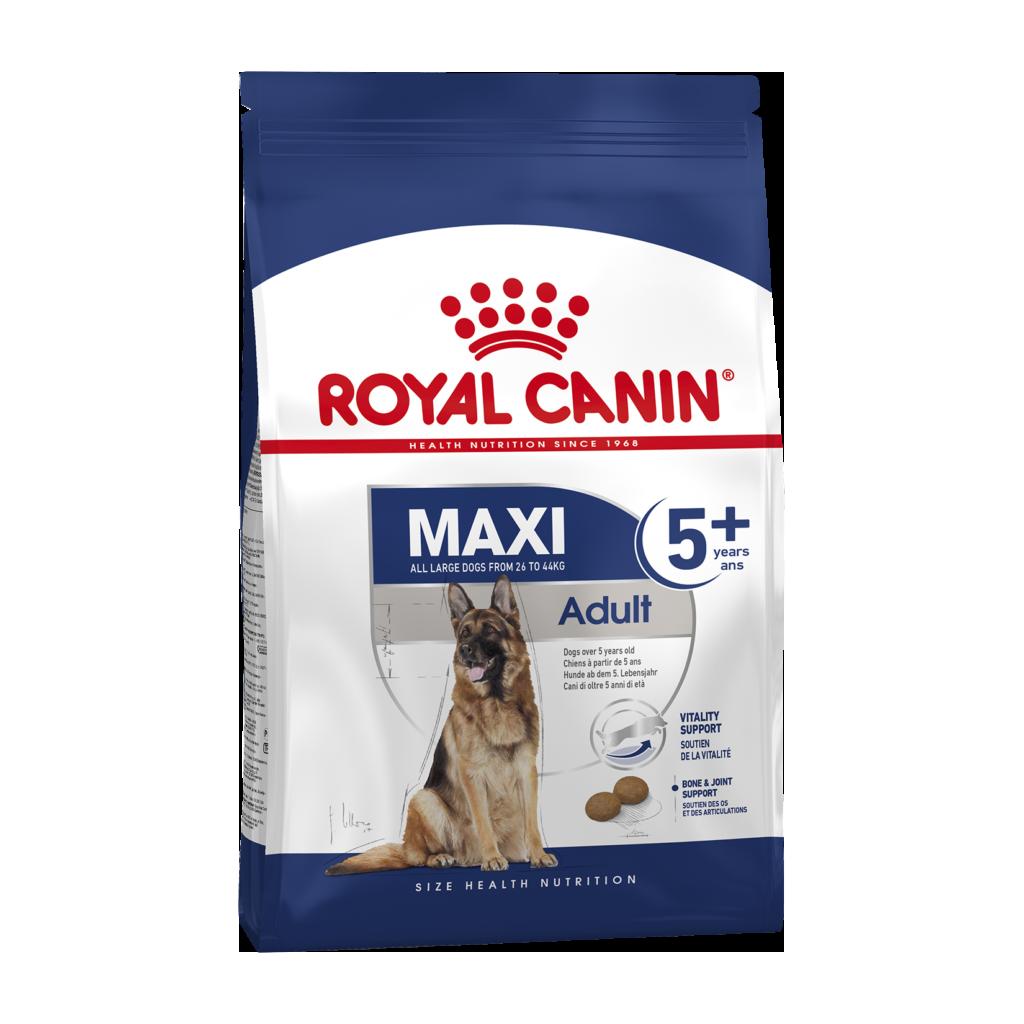 Royal Canin Maxi Adult +5