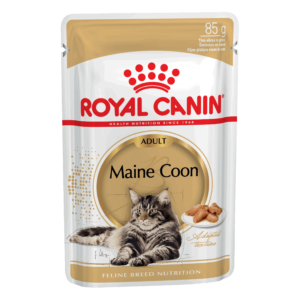 Royal Canin Maine Coon Adult кусочки в соусе (Упаковка 12шт.)