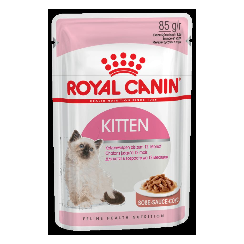 Royal Canin Kitten Instinctive в соусе (Упаковка 12шт.)
