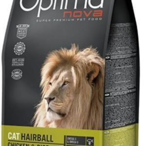 Optima Nova CAT HAIRBALL CHICKEN & RICE
