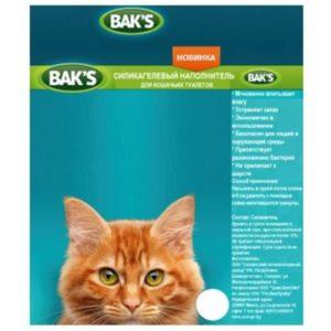 Наполнитель селикогелевый BAKS