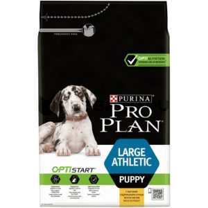 Pro Plan Puppy Large Athletic (Курица, рис)