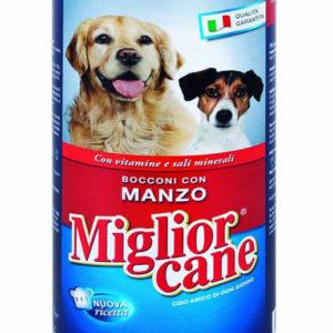 Кусочки в соусе Migliore Cane 1250гр. (говядина , индейка, рыба, ягненок)