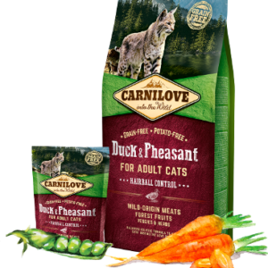 Carnilove Duck & Pheasant FOR ADULT CATS (Утка Фазан)
