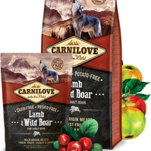 Carnilove Lamb & Wild Boar for adult dogs (Ягненок Дикий кабан)