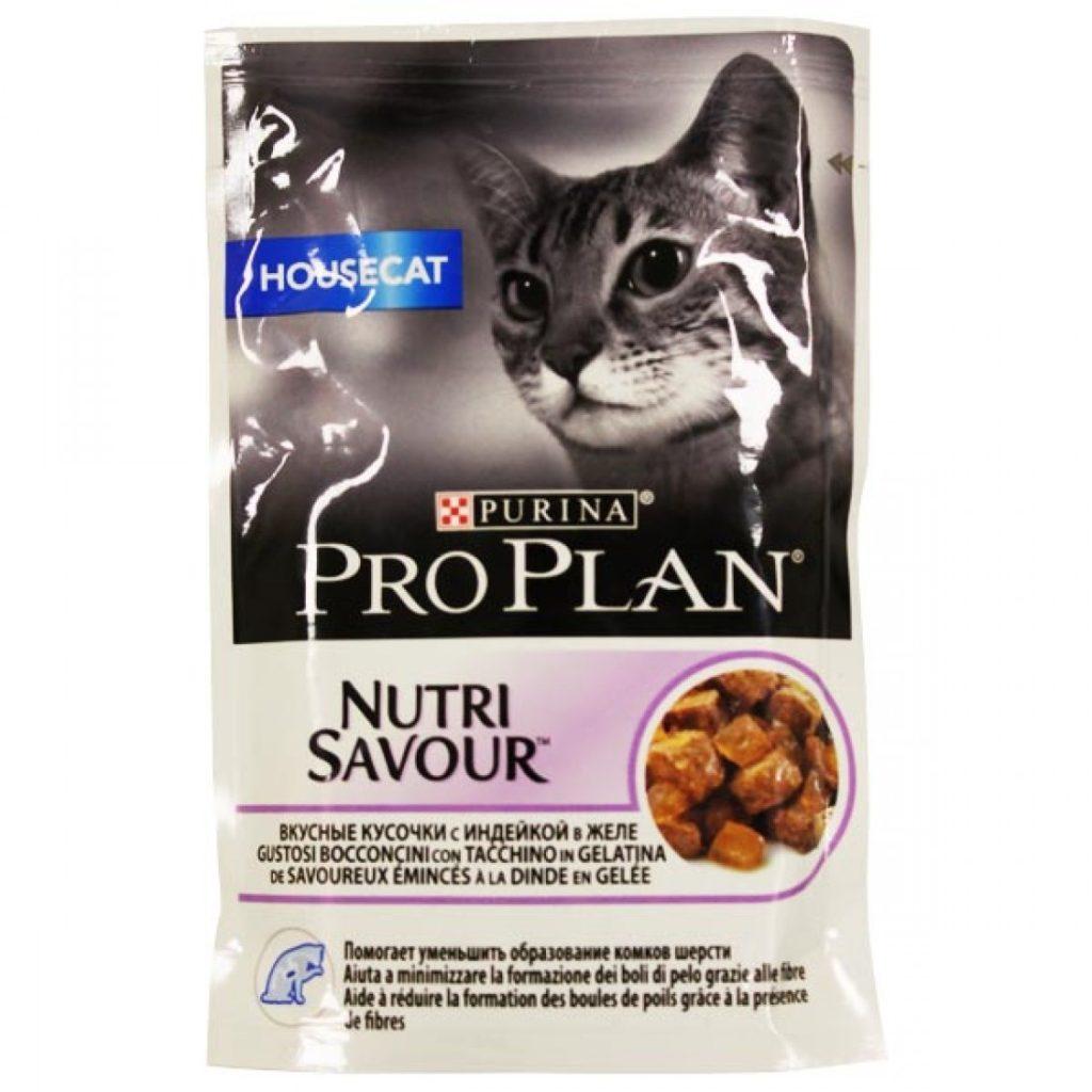 Pro Plan HOUSECAT (Индейка в желе) 85гр.